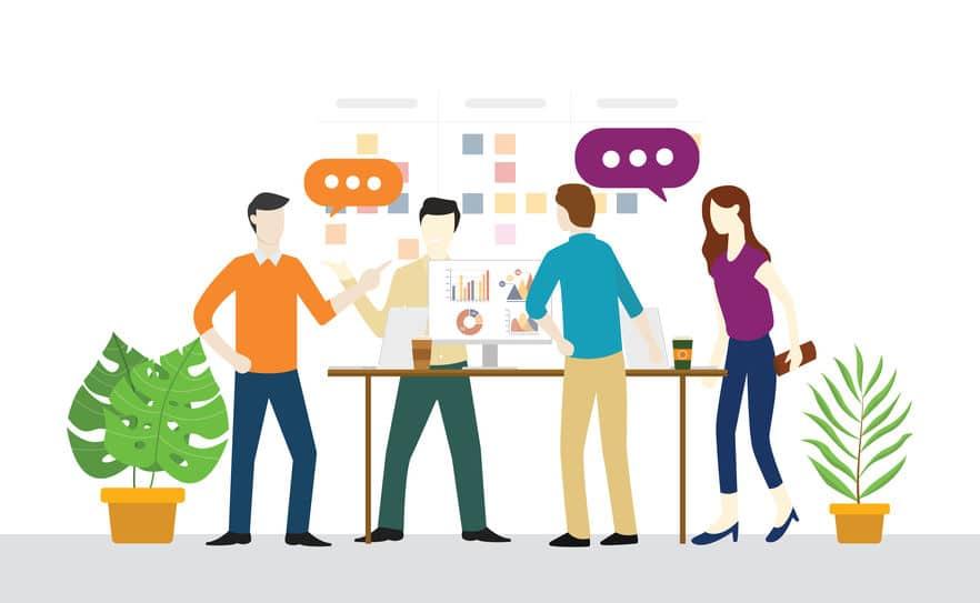"""מאמרים ניהול - """"על מולקולות אג'יליות ותרומתן לארגון"""" - גפן ייעוץ ניהולי וארגוני"""