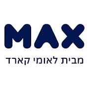 לוגו של חברת MAX מבית לאומי כארד